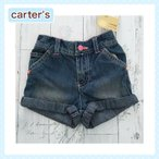 カーターズ 正規品 Carter's -3) デニム ショートパンツ12M 18M 12ヶ月 1歳 1才 2歳 2才 24M 2T 3歳 3才 3T 4歳 4才 4T 5歳 5才 5T 女の子用 80cm 90cm 95c
