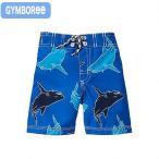 ショッピング男 ジンボリー 水着 (Gymboree-11)ブルー 青 シャーク柄 サメ柄 トランクス水着(90cm 95cm 100cm 110cm 140136400 Gymboree)