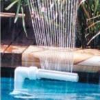 プール 噴水キット 噴水発生機 水遊び 庭 チューブ スプラッシュ