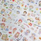 新作予約☆MO122 Molinta モリンタ Department Store【阿卓百貨】和紙 シートステッカー