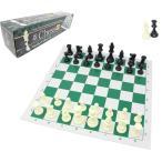 チェスジャパン スタンダードチェスセット ナショナル 43cm  グリーン  ヘビー