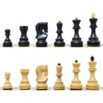 チェス駒 ロシアン・スタントン 99mm 収納箱付属