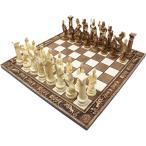チェスセット セラミック ゼウス 50cm 金