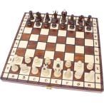 チェスセット 木製 ロイヤル 35cm