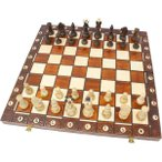 チェスセット 木製 セネター 41cm...