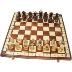チェスセット 木製 ロイヤル 47cm