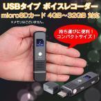 USBタイプ ボイスレコーダー 4GB〜32GB対応 ICレコーダー MP3/WAV 超小型デバイス ◇CHI-SK-006