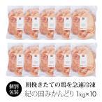 鶏肉 紀州うめどり もも肉 10kg 業務用 国産 【紀の国みかん鶏での代用出荷】