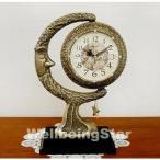 置き時計 太陽と月と星置時計(小) 置時計 おしゃれ  北欧 目覚まし時計  卓上 アラーム アンティーク