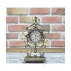 置き時計 アラベスク真珠置時計 置時計 おしゃれ  北欧 目覚まし時計  卓上 アラーム アンティーク