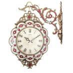 レイチェル両面時計-IVORY両面時計 掛け時計 レイチェル両面時計-IVORY 両面時計シンプル 両面時計おしゃれ 両面時計アンティーク 壁掛け時計両面時計 北欧 時計