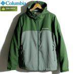Columbia コロンビア ジャケット マウンテンパーカー 撥水 オムニシールド グリーン カーキ 緑 ツートンカラー