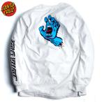 SantaCruz サンタクルーズ ロンT 長袖Tシャツ ScreamingHand スクリーミングハンド ロングスリーブTシャツ White ホワイト