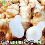 菊芋 2kg 化学肥料・農薬不使用 宮崎県産 鹿児島県産 熊本県産 オリゴ糖 きくいも キクイモ 生 無農薬