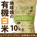 米 10kg 送料無料 28年産 地球畑の有機米(白米) 鹿児島県 有機栽培 化学肥料・農薬不使用