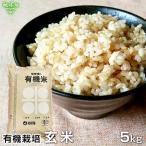 有機玄米 5kg 令和2年産 2020年産 鹿児島県 有機栽培 有機JAS認証 化学肥料・農薬・除草剤不使用 送料無料 5キロ