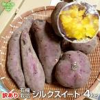 (訳あり)シルクスイート 4kg 有機栽培 宮崎県産 鹿児島県産 訳アリ B品 土付き さつまいも サツマイモ しるくすいーと 無農薬 オーガニック 離乳食