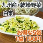 乾燥野菜 白菜 5個セット 国産野菜  保存野菜