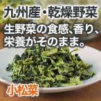 乾燥野菜 小松菜 国産野菜  保存野菜