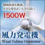 風力発電機 風力発電機/セット 家庭用 最大出力1500W