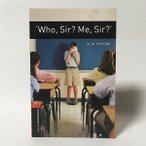 WHO  SIR  ME  SIR   OUP JAPAN OXFORD BOOKWORMS LIBRARY 3 E STAGE 3