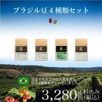 コーヒー シングルオリジン サードウェーブ  ブラジル豆4種類セット