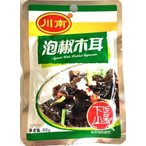 川南 泡椒木耳(きくらげの味付け)Agaric With Pickled Capsicum 62g