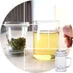 【アウトレット品】数量限定 茶漉し付き耐熱ガラスマグカップ400ml(満水:約450cc 適正:約350cc) FH231S2 LZ