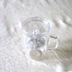 【アウトレット:在庫処分品】プラスチック製茶こし付きマグ LZ