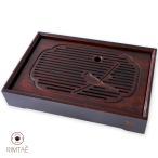 茶盤 竹製 中サイズ 07(竹福小孔明) / 送料無料  / お歳暮お土産