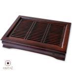 茶盤 竹製 中サイズ 08(鳳雅) 送料無料  お年賀 お年始/バレンタイン