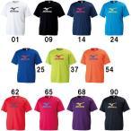 ミズノ Tシャツ 在庫品 32JA6155 バドミントン テニス ウエア 半袖 ユニセックス 男女兼用 MIZUNO 2016年春夏モデル ゆうパケット対応