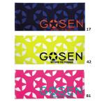 ゴーセン フェイスタオル プリント K1602 バドミントン テニス タオル GOSEN 2016年春夏モデル ゆうパケット対応 在庫品