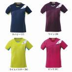ゴーセン レディースゲームシャツ T1613 バドミントン テニス シャツ 半袖 女性用 GOSEN 2016年秋冬モデル ゆうパケット(メール便)対応 在庫品 タイムセール