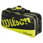 ウイルソン TOUR RECTANGLE 3 ツアー・レクタングル3WRR614400 30%OFFバドミントン テニス ラケット バッグ 収納 WILSON 2016年春夏モデル 在庫品