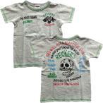 (80cm/90cm/95cm/100cm)メール便 送料無料 1歳から2歳くらいになったら 半袖Tシャツ  レッカーズ スカル 子供服  半額セール 50%OFF SALE