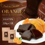 【チョコレート フルーツ・オ・ショコラ オレンジ ドライフルーツ チョコがけ 500g(250g×2袋)】