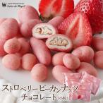 バレンタイン ギフト 食べ物 チョコレート お菓子 詰合せ プチギフト/ストロベリーピーカンナッツチョコレート小粒 サロンドロワイヤル