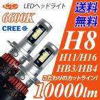 LEDヘッドライト フォグランプ H8/H11/H16/HB4/HB3/H10 10000ルーメン ハイビーム 驚きの配光精度 カットラインも綺麗に 送料無料 1年保証