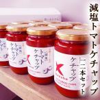 減塩トマトケチャップ 380g×12本 送料無料 プレミアム 自然派 塩分60%カット 減塩 ヘルシー 有機トマト使用 ケンショー イタリア産有機栽培トマト