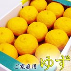 柚子(ゆず) 約1キロ 高知産 ご家庭用 日本一の柚子の産地からお届けします
