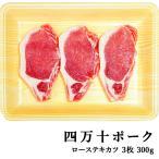 四万十ポーク 窪川ポーク ロース・テキカツ 3枚 約300g 高知産 豚肉 ポーク ステーキ 高級 ギフト プレゼント お取り寄せ 産地直送 お歳暮 お祝い (200023)