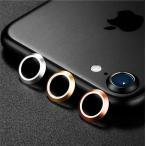 iPhone7/iPhone 7用カメラレンズ保護アルミリング/カメラレンズ保護リング/操作簡単/出っ張ったカメラレンズを守るカメラレンズ保護