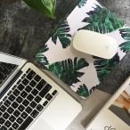 INS 北欧風 マウスパッド/ハワイタイプ 植物 葉 デザイン/シンプル/PCアクセサリー 雑貨/ステーショナリー/オフィス用品/文具/シンプル/プレゼント/ギフト