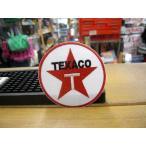 TEXACO ラウンド モーターレーシング ワッペン 世田谷ベース アメリカ雑貨 アメリカン雑貨