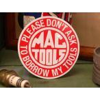 MACTOOLS ステッカー ラウンド マックツール デカール アメリカ雑貨 アメリカン雑貨