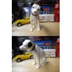 ビクター犬 ニッパー 陶器フィギュア  13cm/ 正規ライセンス商品
