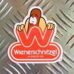 ウィンナーシュニッツェル ステッカー Wienerschnitzel ウインナーシュニッツェル ホットドッグ アメリカン雑貨