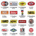選べるステッカー 5枚セット ステッカー 車 レーシング モーター アメリカ雑貨 アメリカン雑貨 アメ雑 世田谷ベース