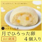 月でひろった卵 4個入り 山口銘菓